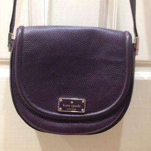NWOT Kate Spade Plum Burgundy Crossbody Purse Bag